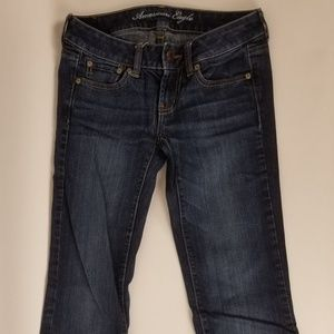 AE Favorite Boyfriend Stretch Jean's SZ 0